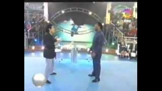 Pelé Vs. Maradona   PELE WINS ! [live On TV]