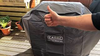 Unpack & assemble. Cadac Entertainer BBQ Wow what a piece of kit. Includes Rotisserie & Pizza Stone