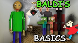 Monster School: BALDI'S BASICS Challenge - Minecraft