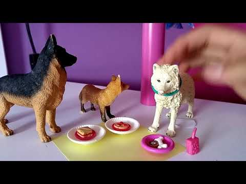 #High school ! ep.2, # kristina kashytska,  #wolf toys ,#dogs, #paws by claws, #ice wolf pack