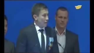 Геннадий Головкин-Я Казах! Геннадий Головкин-Мен Қазақпын!
