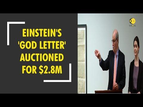 Albert Einstein's 'God letter' sold at $2.8 million