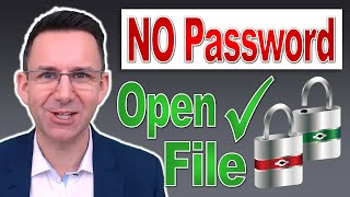 Open a Password Protected Excel File WITHOUT the Password…AND Remove ALL Other Passwords