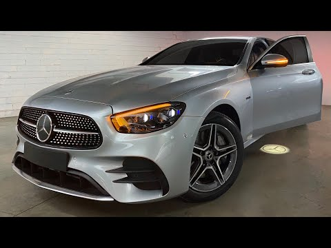 NEW E-CLASS! 2020 E300 Sedan Hybrid - First Look & Walkaround