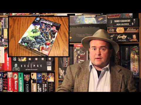 The Discriminating Gamer: Crisis Expansion Pack #3: DC Comics Deck Building Game