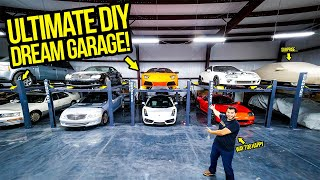 I BUILT MY ULTIMATE DIY SUPERCAR WORKSHOP! - Garage Update Episode 1