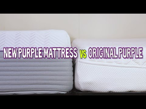 The New Purple Mattress vs Original Purple Mattress | What!? What!?