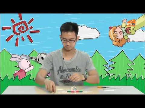 Tạo hình: Làm con rối từ vỏ bút bi