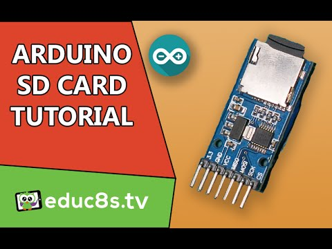Arduino Tutorial: SD card module Micro SD tutorial DIY.