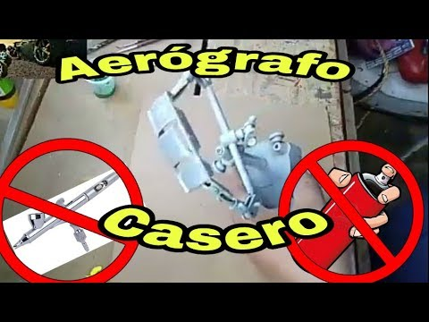 AEROGRAFO CASERO CON 2 PLUMAS