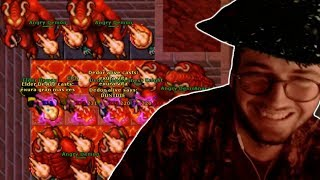 BUBBA GETS PRANKED AT ANNIHILATOR - BEST OF TIBIA, PART 19 - TWITCH   TIBIA
