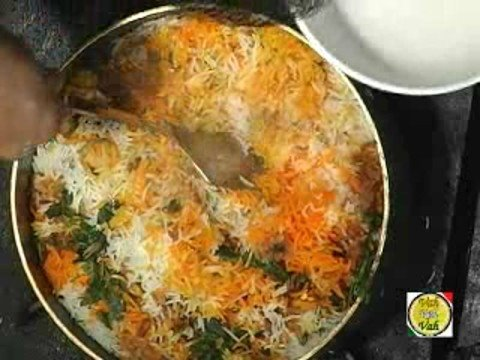 Vegetable Parda Biryani