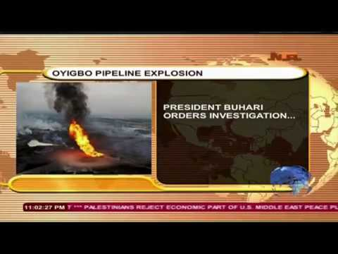 Oyigbo Pipeline Explosion in Rivers State