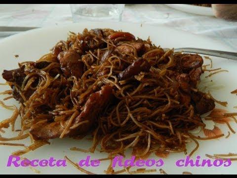 Cocina tú: Fideos chinos (receta sencilla y rápida)