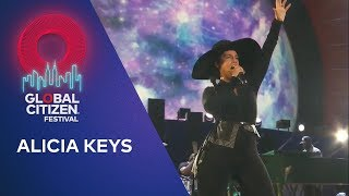 Alicia Keys performs No One | Global Citizen Festival NYC 2019