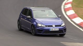 Volkswagen Golf R420 - 5-Cylinder ENGINE SOUNDS On The Nurburgring!