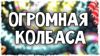 ОГРОМНАЯ КОЛБАСА КВАНТУМА В SLITHER.IO