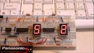 Logic IC 4094 Shift Register TEST