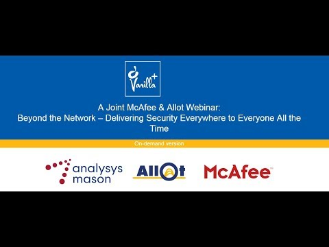 Beyond the Network – Delivering Security Everywhere to Everyone All the Time