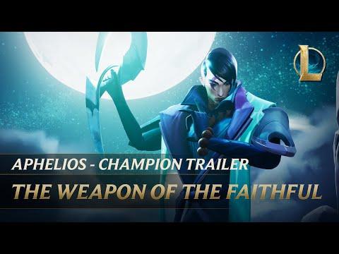 Aphelios: The Weapon of the Faithful | Champion Trailer - League of Legends
