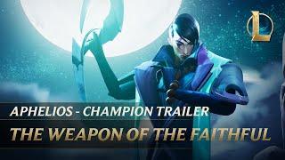 Aphelios: The Weapon of the Faithful   Champion Trailer - League of Legends