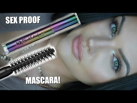 NEW Urban Decay Troublemaker Mascara Review
