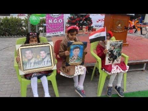 شاهد بالفيديو.. احتفالية لتكريم ابناء الشهداء في البصرة #المربد