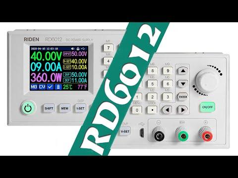 RIDEN RD6012-W: мощный регулируемый блок питания от RD Tech на 60V/12A/720W
