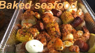 HOW TO BAKED SEAFOOD BOIL JUICY