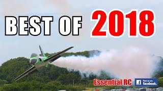④ BEST OF ESSENTIAL RC 2018 | LARGE SCALE AND FAST RC ACTION COMPILATION