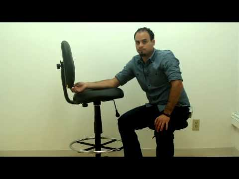 Boss_Caresoft Drafting Chair with Footring