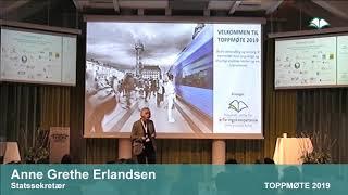 Toppmøte 2019 – Anne Grethe Erlandsen