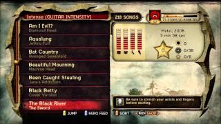 Guitar Hero: WoR Song List