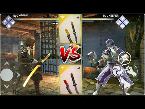 Shadow Fight 3 - FATE'S END & PURPLE PEELER- Iaido Katana
