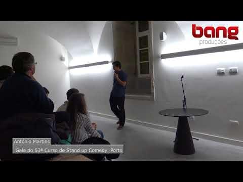 António Martins - 53º Gala Curso Stand Up Comedy Porto Bang Produções