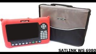 Satlink WS-6980 Digital-Satellite Finder - UNBOXING