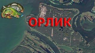 Водоемы для рыбалки в полтавской области карта
