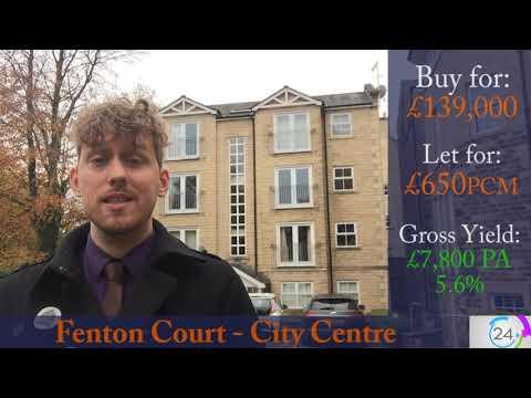 Lancaster City Centre Apartment with 5.6% Gross Returns