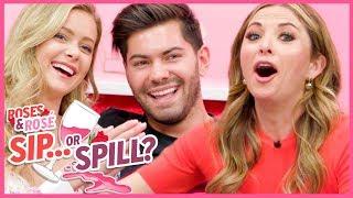 Roses & Rose: Hannah Godwin & Dylan Barbour REVEAL Bachelor Relationship Secrets | Sip or Spill