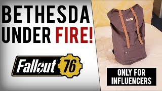 Bethesda Lies, Gave Influencers Fallout 76 Canvas Bags For Free In September