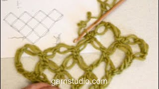 How To Crochet A Love Knots Triangle