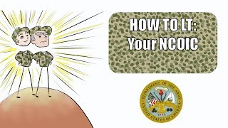 How to LT- Your NCOIC