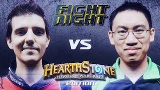 Fight Night Hearthstone - Artosis vs Trump - S02E01