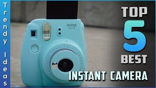Top 5 Best Instant Cameras Review In 2020