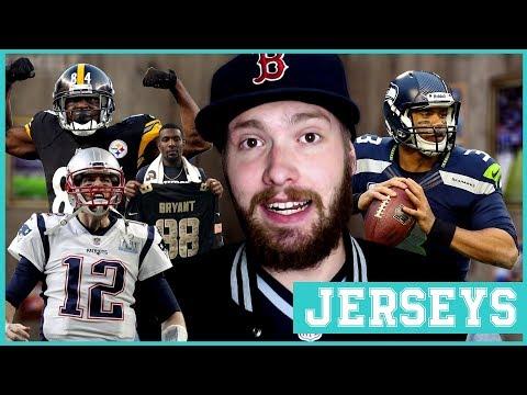 NFL Jersey Wahnsinn! | FUMBLE - Das Football-Magazin