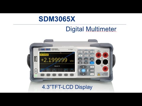 SIGLENT Release SDM3065X Digital Multimeter