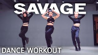 [Dance Workout] Megan Thee Stallion - Savage Tt. Beyoncé | MYLEE Cardio Dance Workout, Dance Fitness