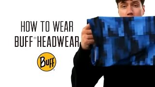 How to Wear BUFF® Original Multifunctional Headwear (2014)