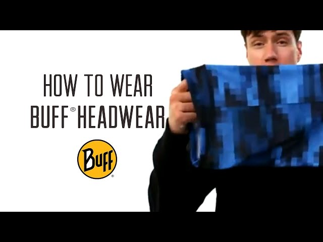 Видео Бандана Buff Lightweight Merino Wool birch ms