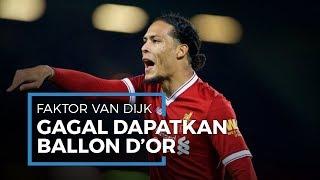 Legenda Bek Italia Sebut Faktor Ketidakberuntungan Virgil Van Dijk Raih Ballon d'Or 2019